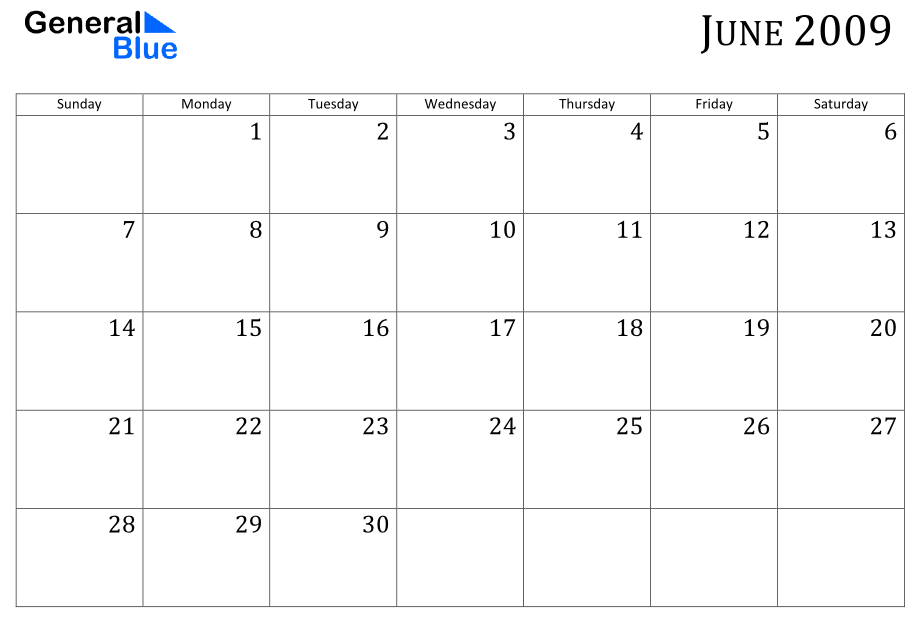 June 2009 Calendar Tdlawncare/snowremoval